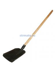 Лопата совковая с черенком
