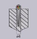 Схема монтажа дюбель-хомута