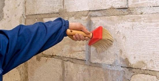Грунтовка для стен.