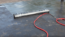 Рулонная гидроизоляция.
